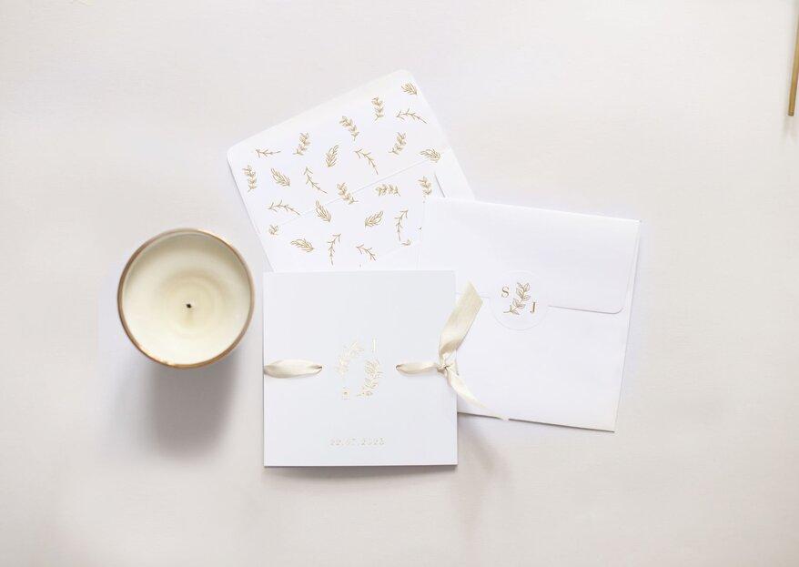 Verlieben Sie sich in die zarte Papeterie von Cotton Bird –Einladungen, Menükarten & Co. für die Hochzeit