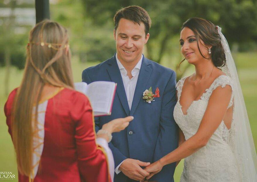¿Quieres una ceremonia diferente para tu matrimonio? ¡Conoce a Vinue Sacerdotisa de Bodas Simbólicas!