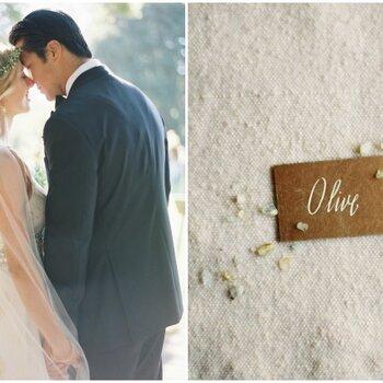 Rustikale Details einer stilvollen Real Wedding