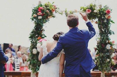 ¿Cómo personalizar tu matrimonio civil? ¡Inspírate con éstas ideas!