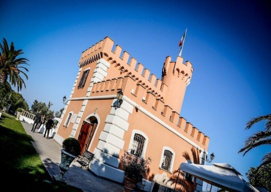 Il Castello Borghese, il tuo matrimonio da favola a Roma tra verde e mare!