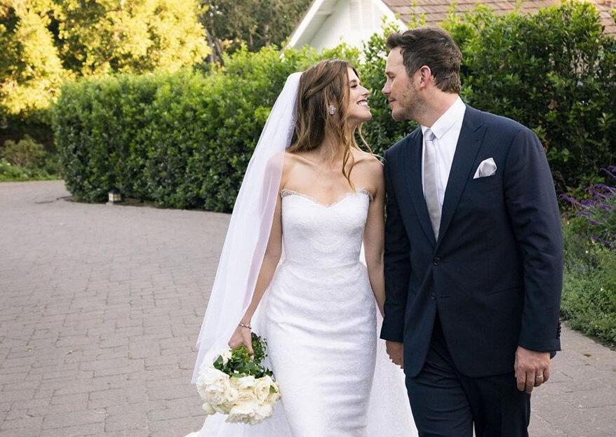 Chris Pratt e Katherine Schwarzenegger casaram numa cerimónia intíma