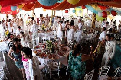 Cardápio vegetariano no seu casamento