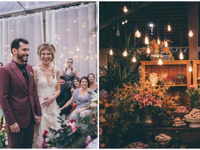 O casamento duplo de Isabella & Ewerton e Andryelle & Luiz: ao ar livre, em uma celebração cheia de mineirices maravilhosas