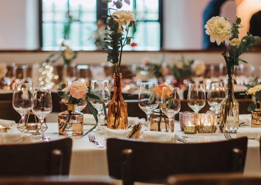 Catering & Location in einem – mit KERRES eine unvergessliche Hochzeit feiern