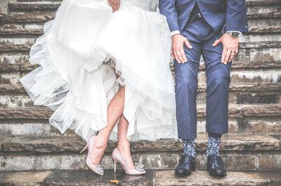 Zapatos de novia perfectos: Te contamos cómo elegirlos