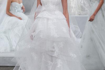 Enamórate de los vestidos de novia de Monique Lhuillier 2015