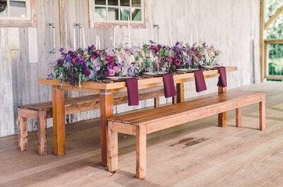 Decora tu boda con mesas imperiales, la tendencia top para un grandísimo banquete nupcial