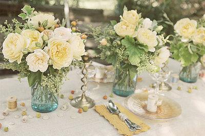 Tips para organizar una boda 'vintage'