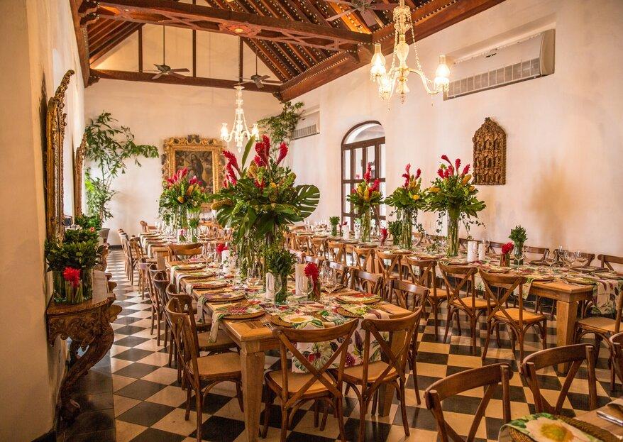 La fantástica Cartagena y su idoneidad para reunir Bodas & Glamour