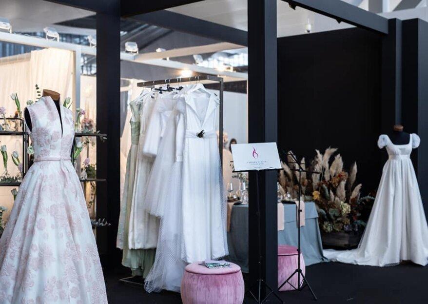 Chiara Vitale Atelier Kore: un'atmosfera familiare dove poter provare ed acquistare l'abito da sposa che sognate