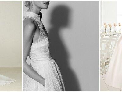 Impresionantes vestidos de novia con bolsillos. ¡Luce un diseño original!