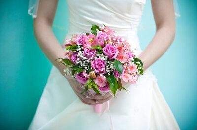 7 claves para comprar tu ramo de novia y flores de tu boda al mejor precio por Floristería María del Prado
