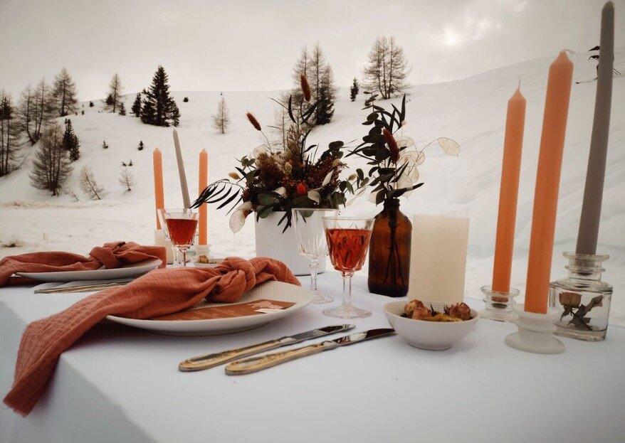 Un mariage en basse saison hivernale comme vous en rêviez !