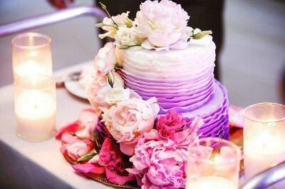 Свадебный торт 2017: самые последние тенденции!