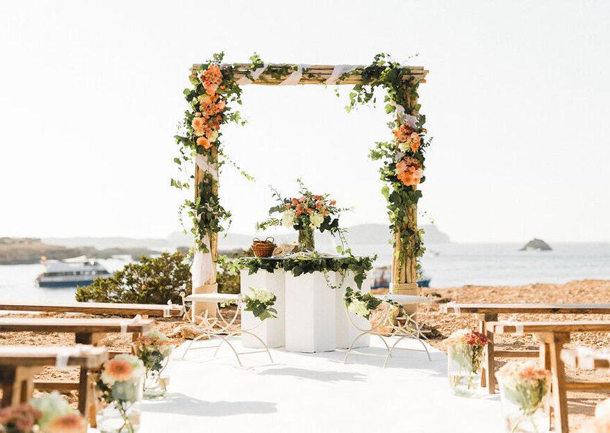 CBbC Cala Bassa Beach Club: bodas paradisíacas a otro nivel en la magia de Ibiza