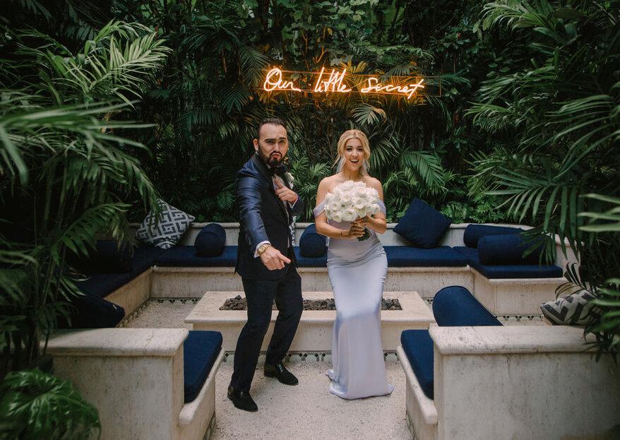 Las mejores tendencias de boda 2019 ¡Sí, puedes tenerlas ya!