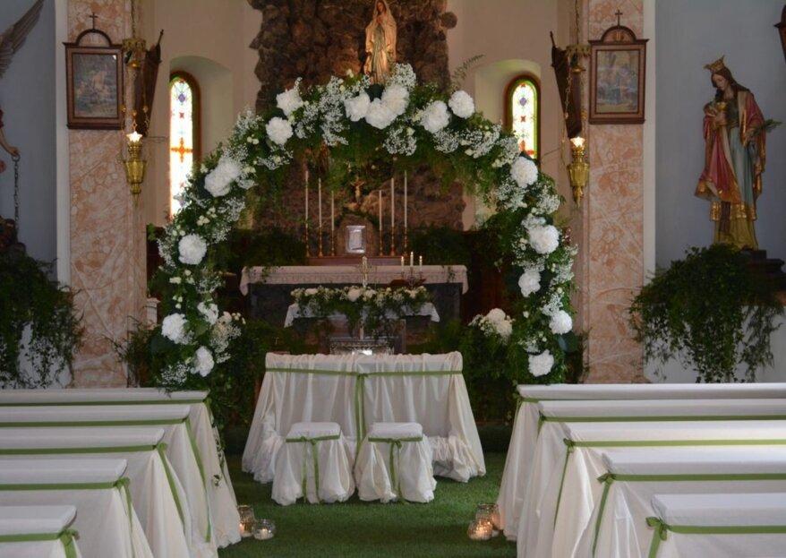 Ampezzan Fiori e Casa: Tu, il tuo lui e una scenografia ideata appositamente per le nozze