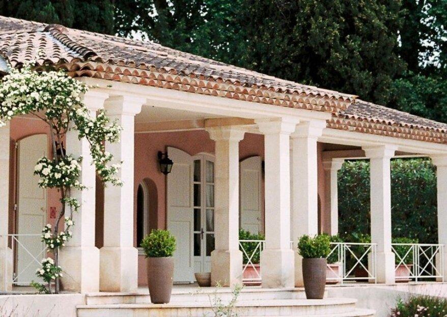Organisez une réception bucolique sous le soleil de la Provence au Pavillon Sully
