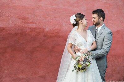 Casamento rústico na fazenda de Marina & Inácio: romantismo ao ar livre!