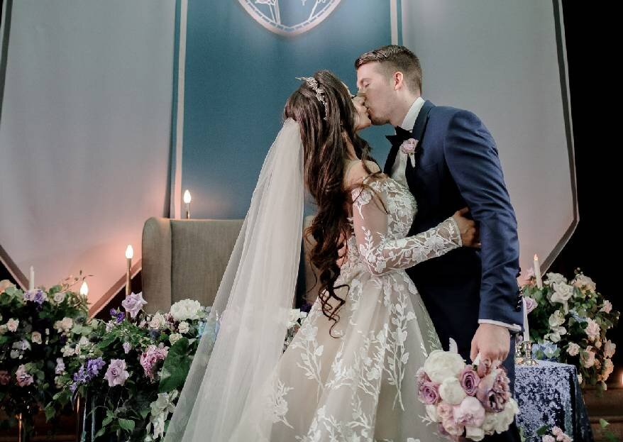 Сквозь время: свадьба Арсения и Элины