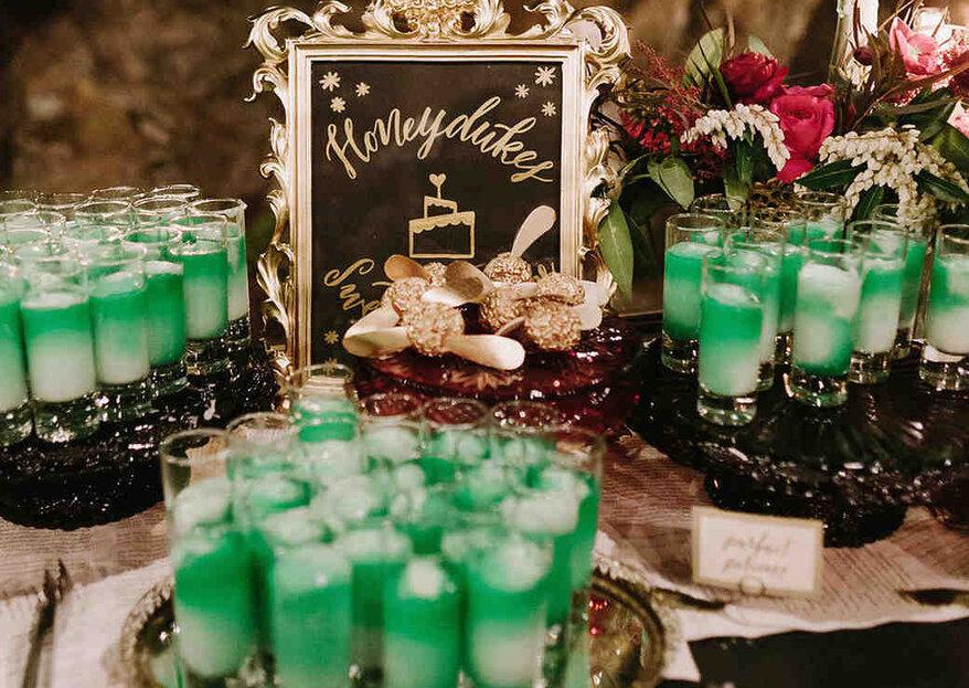 Eine magische Hochzeit im Harry-Potter-Stil – Lassen Sie sich von diesen Eindrücken verzaubern