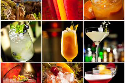 Los mejores cócteles y bebidas para tu boda