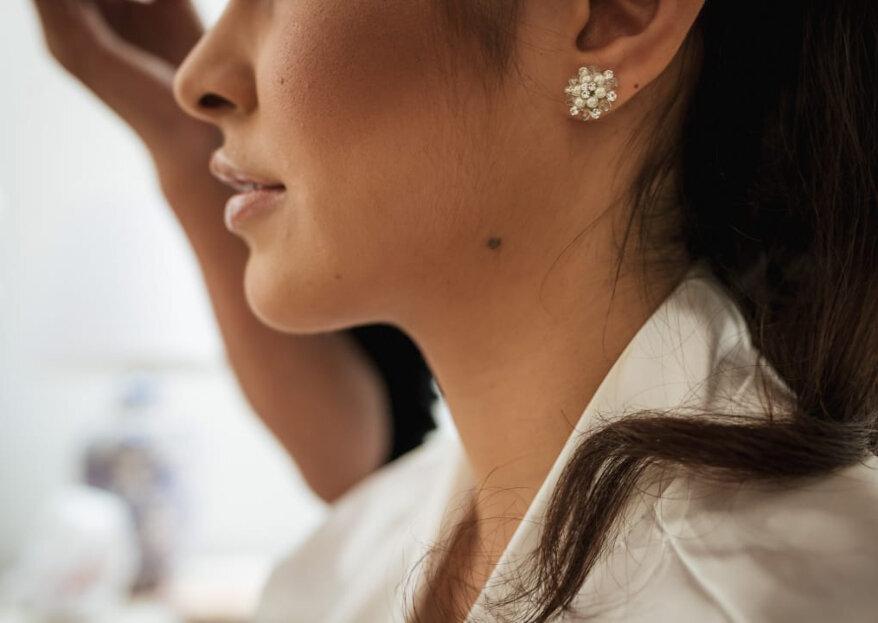 Aretes de novia según el peinado: ¡conoce cuáles son las mejores opciones!