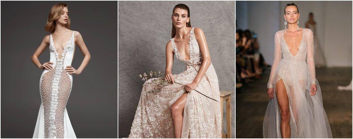70 vestidos de novia súper sexy para que brilles ¡como nunca!