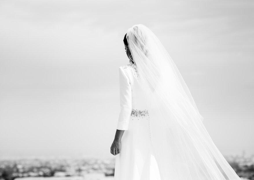 La delicadeza y perfección de las novias de Navascués