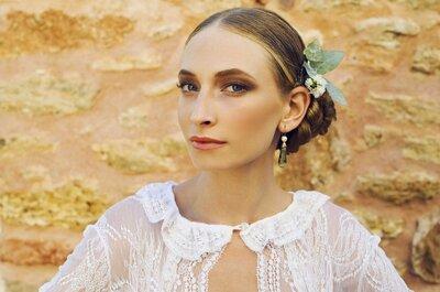 Penteados de noiva que vão brilhar em 2017: 5 estilos diferentes para você escolher!