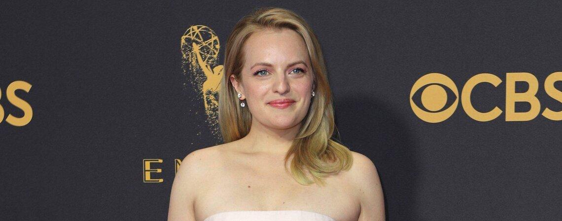 69th Primetime Emmy Awards – Arrivals – Los Angeles, California, U.S., 17/09/2017 - Actress Elisabeth Moss. REUTERS/Mike BlakeCODE: X00030