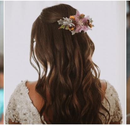 28 Penteados Para Noivas De Cabelos Longos Inspire Se Para