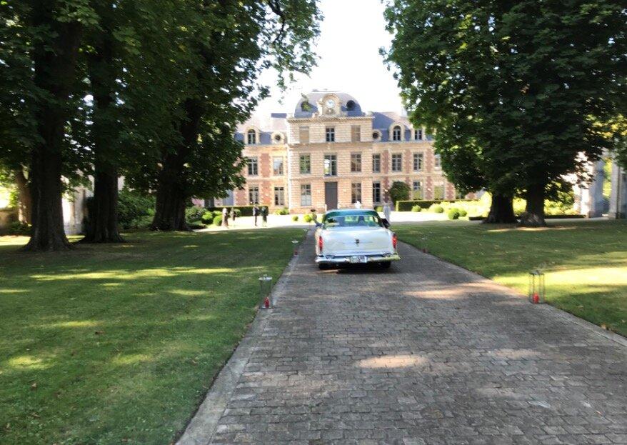 Le Château de Richancourt vous accueille dans un décor digne des plus beaux contes de fées