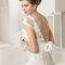 Rosa Clara 2015 Robe SABINE. Robe de mariée avec des touches de dentelle et de broderie