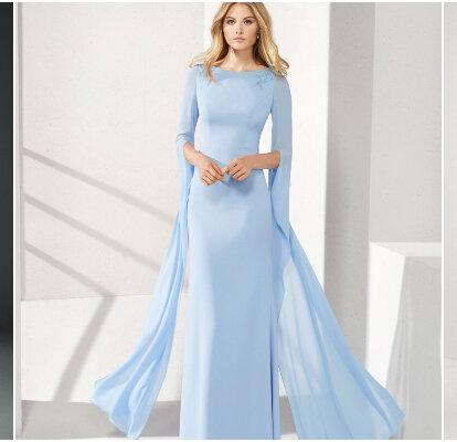 deaec2b29 60 vestidos de fiesta de color azul  ¡arrasa en tu evento luciendo alguna  de sus tonalidades!