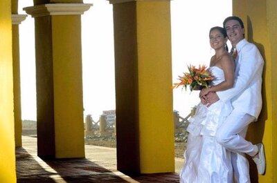 Um casamento nas Caraíbas