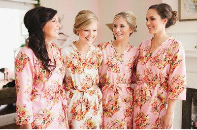 Ideas para las damas de honor: regalos y vestidos