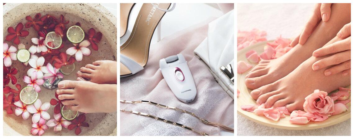Pediküre für die Braut - In 3 Schritten zu gepflegten Füssen