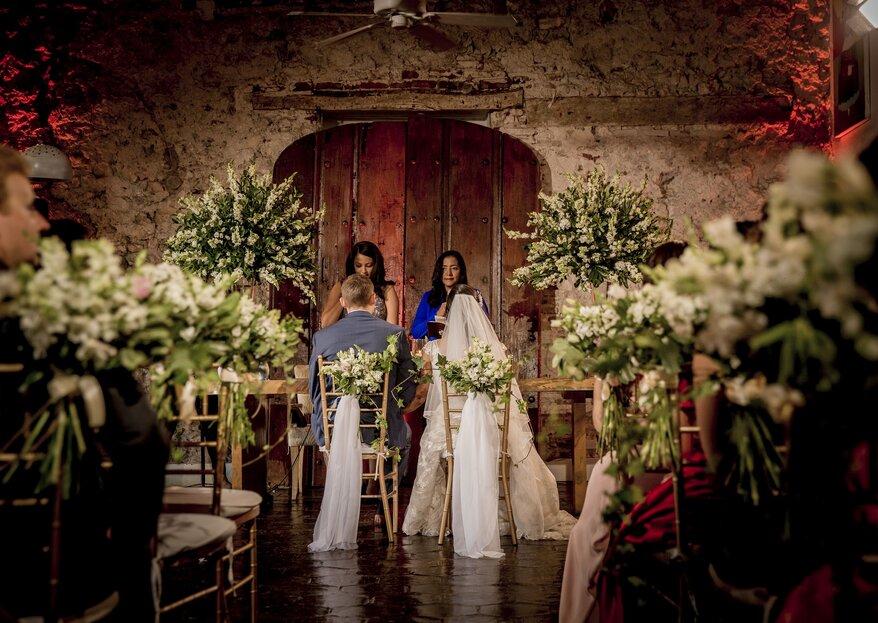 Las bodas de ensueño de Events & Weddings Tw en Santa Marta o Cartagena