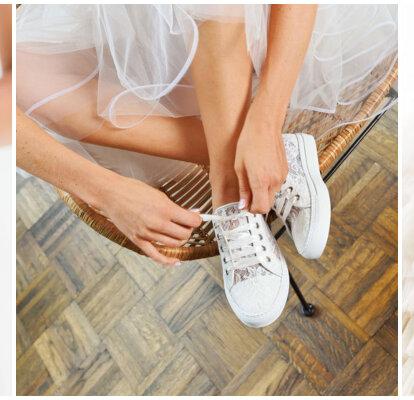 brand new ac2ca 0ab1d Brautschuhe für eine Traumhochzeit – Elsa Coloured Shoes ...