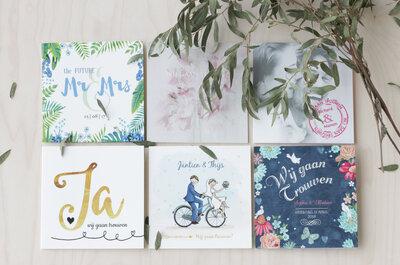 De bruidskaart: veel meer dan een uitnodiging