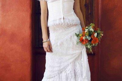 Autênticos, belos e elegantes: vestidos de noiva Charo Ruiz