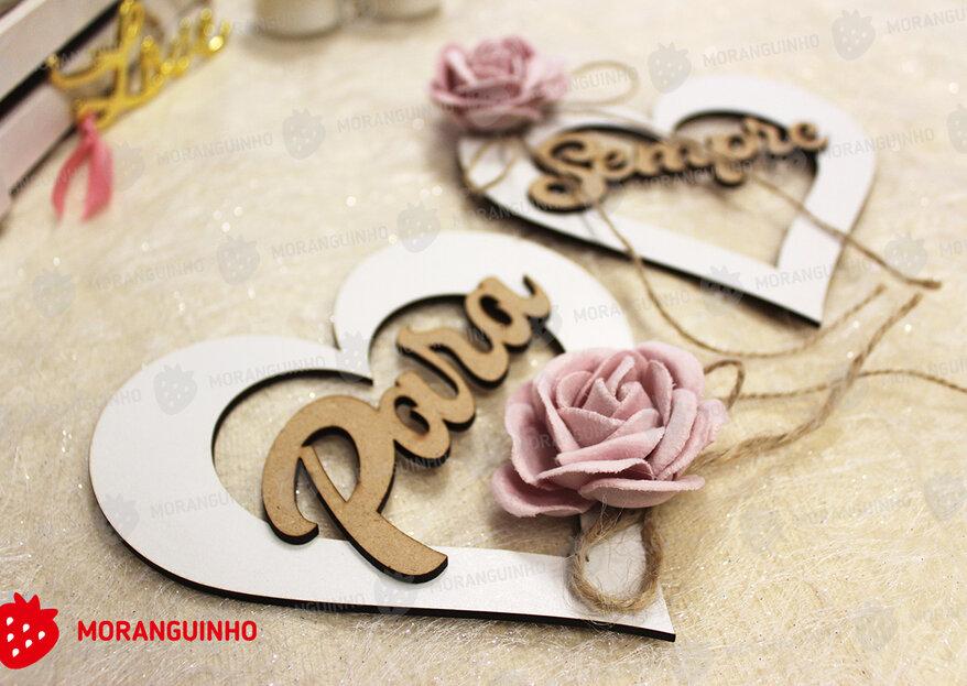"""Moranguinho: um """"convite"""" elegante para uma cerimónia que ficará na """"lembrança"""""""
