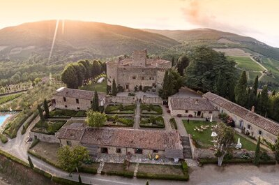 Castelli per matrimoni in Toscana: una selezione dei più belli