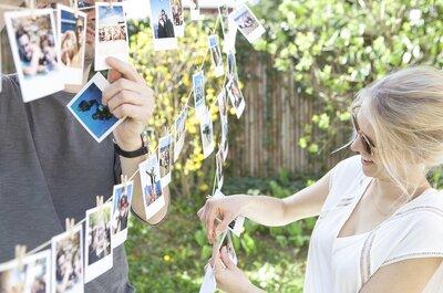 Invitez, décorez, remerciez avec Cheerz : Un mariage tout en photos