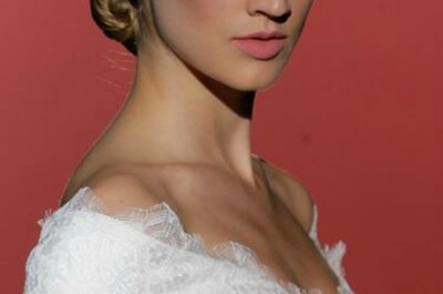 Trend 2015: dalla Barcelona Bridal Week, abiti da sposa con spalle nude