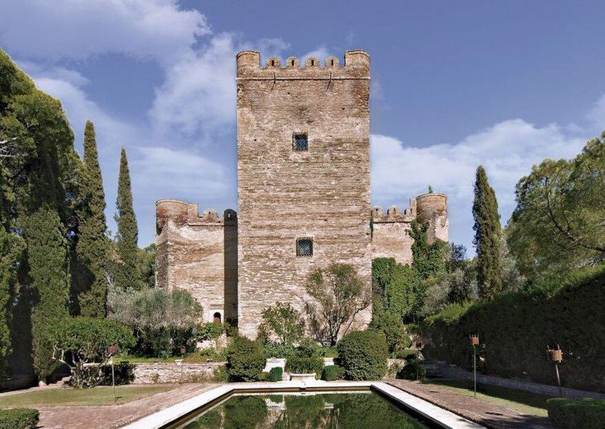 Castillo de Batres, un escenario mágico donde reside el romanticismo
