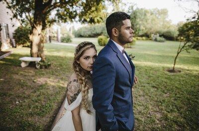 Cuando te veo encuentro mi vida: La boda de Yvette y George
