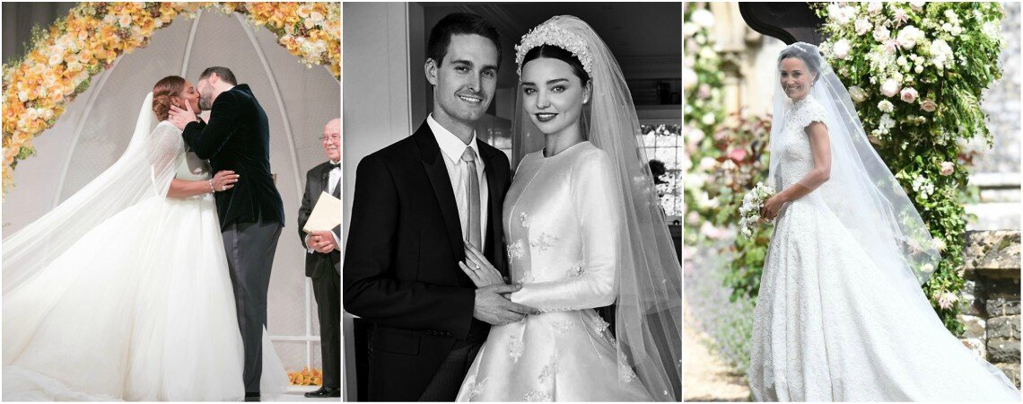 A Countdown of The Most Spectacular Year In Weddings: At 5...